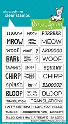 Lawn Fawn - Clear Stamps - Critter Chatter: Pets