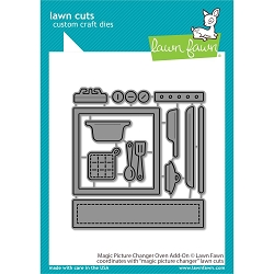 Lawn Fawn - Die - Magic Picture Changer Oven Add-On Lawn Cuts