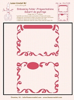 Leane Creatif - LeaCrea Design Embossing Folder - 2 Little Frames  (6