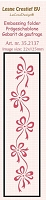 Leane Creatif - LeaCrea Design Embossing Folder - Border Bows (1.25