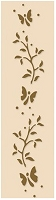 Leane Creatif - LeCrea Design Embossing Folder - Border Branch