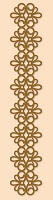 Leane Creatif - LeaCrea Design Embossing Folder - Lace Strip