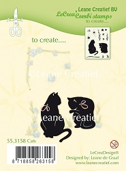 Leane Creatif - Lea'bilities Clear Stamp - Cats