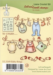 Leane Creatif - Lea'bilities Clear Stamp - Baby Things