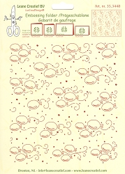 Leane Creatif - LeaCrea Design Embossing Folder - Background Balloons