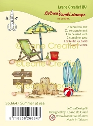 Leane Creatif - Summer At Sea Clear Stamp