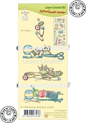 Leane Creatif - Sewing Knitting & Crochet Clear Stamp
