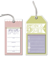 Little Yellow Bicycle - Tiny Princess - Specialty Tags