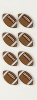 Little B - 3D Stickers - Mini Footballs :)