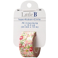 Little B - Decorative Tape - (25mm x 10m) - Floral