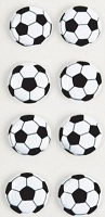 Little B - 3D Mini Stickers - Soccer