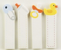 Little B - Decorative Paper Tabs - Baby