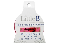 Little B - Decorative Paper Tape - Japan (15mm width)