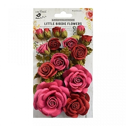 Little Birdie - Paper Flowers - Rosalind Candy Mix