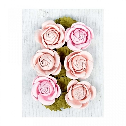 Little Birdie - Paper Flowers - Sharon Roses Pink