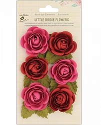 Little Birdie - Paper Flowers - Sharon Roses Candy Mix
