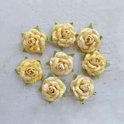Little Birdie - Paper Flowers - Angel Roses Lemon