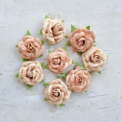 Little Birdie - Paper Flowers - Angel Roses Amber