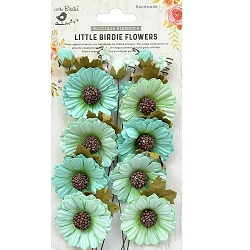 Little Birdie - Paper Flowers - Jessica Arctic Ice