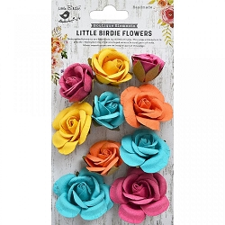 Little Birdie - Paper Flowers - Joanna Vivid Mix