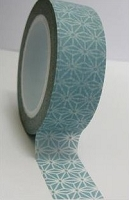 Love My Tapes - Washi Tape - Colonial Blue Starburst