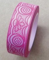 Love My Tapes - Washi Tape - Pink Lace