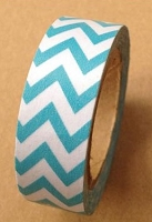 Love My Tapes - Washi Tape - Teal Chevron