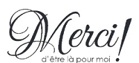 Magenta - Cling Rubber Stamp - Merci