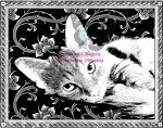 Magenta Cling Stamp - Susie Small (limited edition)