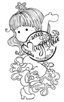 Magnolia - Cling Mounted Rubber Stamp - Tilda Learning To Dance