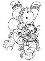 Magnolia - Cling Mounted Rubber Stamp - Pixie Tilda