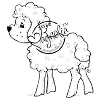 Magnolia - Cling Mounted Rubber Stamp - Holy Sheep