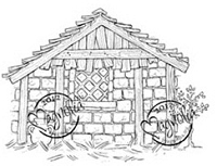 Magnolia - Cling Mounted Rubber Stamp - Holy House