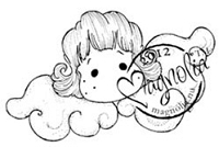Magnolia - Cling Mounted Rubber Stamp - Glory Tilda