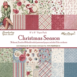 Maja Design - Christmas Season Collection - 6x6 Paper Pad