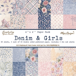 Maja Design - Denim & Girls Collection - 6x6 Paper Pad