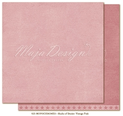 Maja Design - Monochromes Collection - Shades of Denim & Girls Vintage Pink - 12