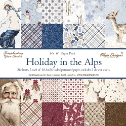 Maja Design - Holiday In The Alps Collection - 6x6 Paper Pad