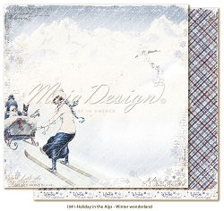 Maja Design - Holiday In The Alps Collection - Winter wonderland 12