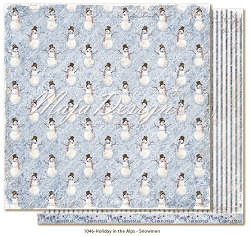 Maja Design - Holiday In The Alps Collection - Snowmen 12