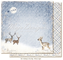Maja Design - Holiday In The Alps Collection - Winter night 12