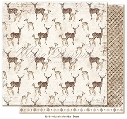 Maja Design - Holiday In The Alps Collection - Deers  12