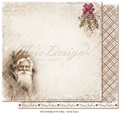 Maja Design - Holiday In The Alps Collection - Santa Claus 12