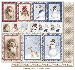 Maja Design - Holiday In The Alps Collection - Winter Ephemera 12