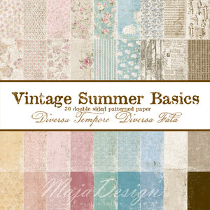 Vintage Summer Basics Collection
