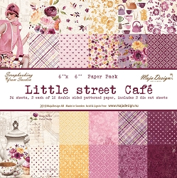 Maja Design - Little Street Café Collection - 6x6 Paper Pad