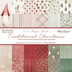 Maja Design - Traditional Christmas Collection - 6x6 Paper Pad