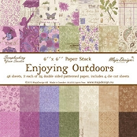 Maja Design - Enjoying Outdoors Collection - 6x6 Paper Pad