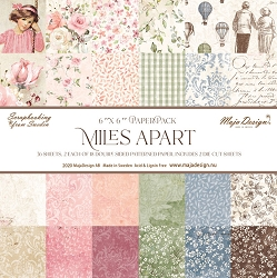 Maja Design - Miles Apart Collection - 6x6 Paper Pad