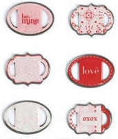 Making Memories - Love Notes Collection - Ribbon Slides